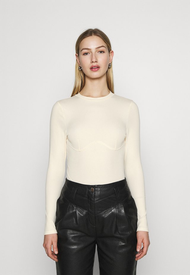 DARCY - Long sleeved top - off-white