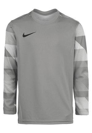 PARK IV - Sports shirt - pewter grey/white/black