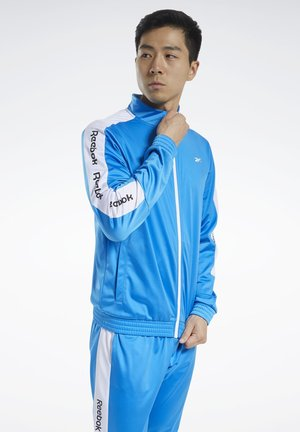 TRAINING ESSENTIALS TRACK TOP - Training jacket - blue