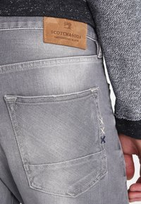 Scotch & Soda - STONE AND SAND - Slim fit jeans - cement melange - 4