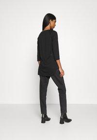 Vero Moda - VMSUPER - Long sleeved top - black - 2