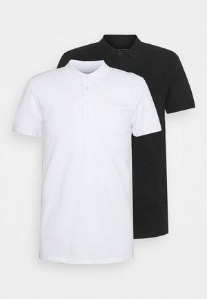2 PACK - Koszulka polo - white