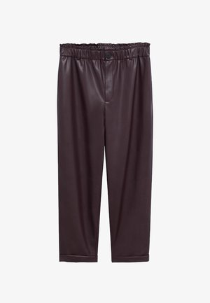 SKULL - Kalhoty - donkerrood