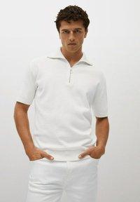 Mango - AZULEJOP - Polo shirt - ivoire - 0