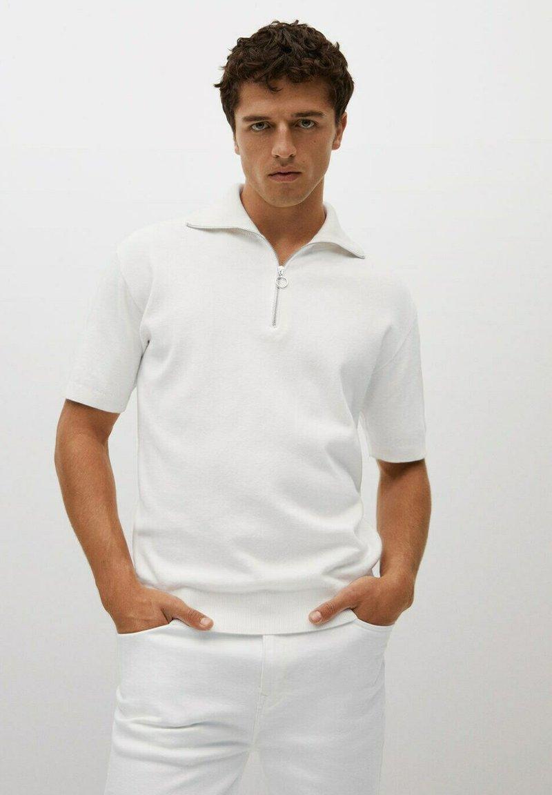 Mango - AZULEJOP - Polo shirt - ivoire