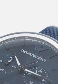 Emporio Armani - Kronografklockor - blue - 4