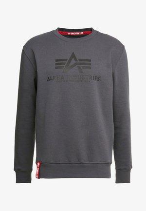 BASIC - Sweatshirt - greyblack/black