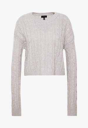 BASIC - Jersey de punto - light grey