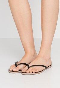 J.CREW - CAPRI  - T-bar sandals - black - 0