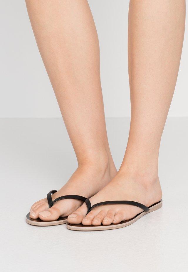 CAPRI  - T-bar sandals - black