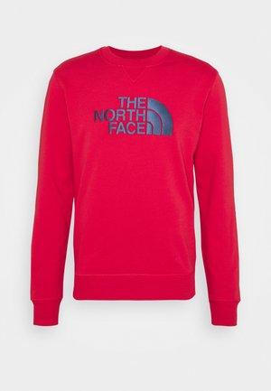 DREW PEAK CREW - Sweatshirt - rococco red