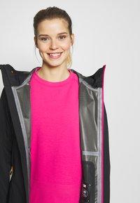 CMP - WOMAN JACKET FIX HOOD - Hardshell jacket - antracite - 3