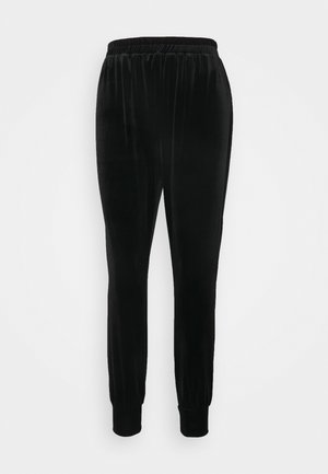 CLOSET CUFF LEG TROUSER - Trousers - black