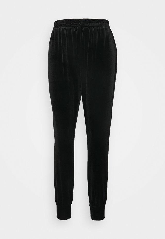 CLOSET CUFF LEG TROUSER - Trousers - black