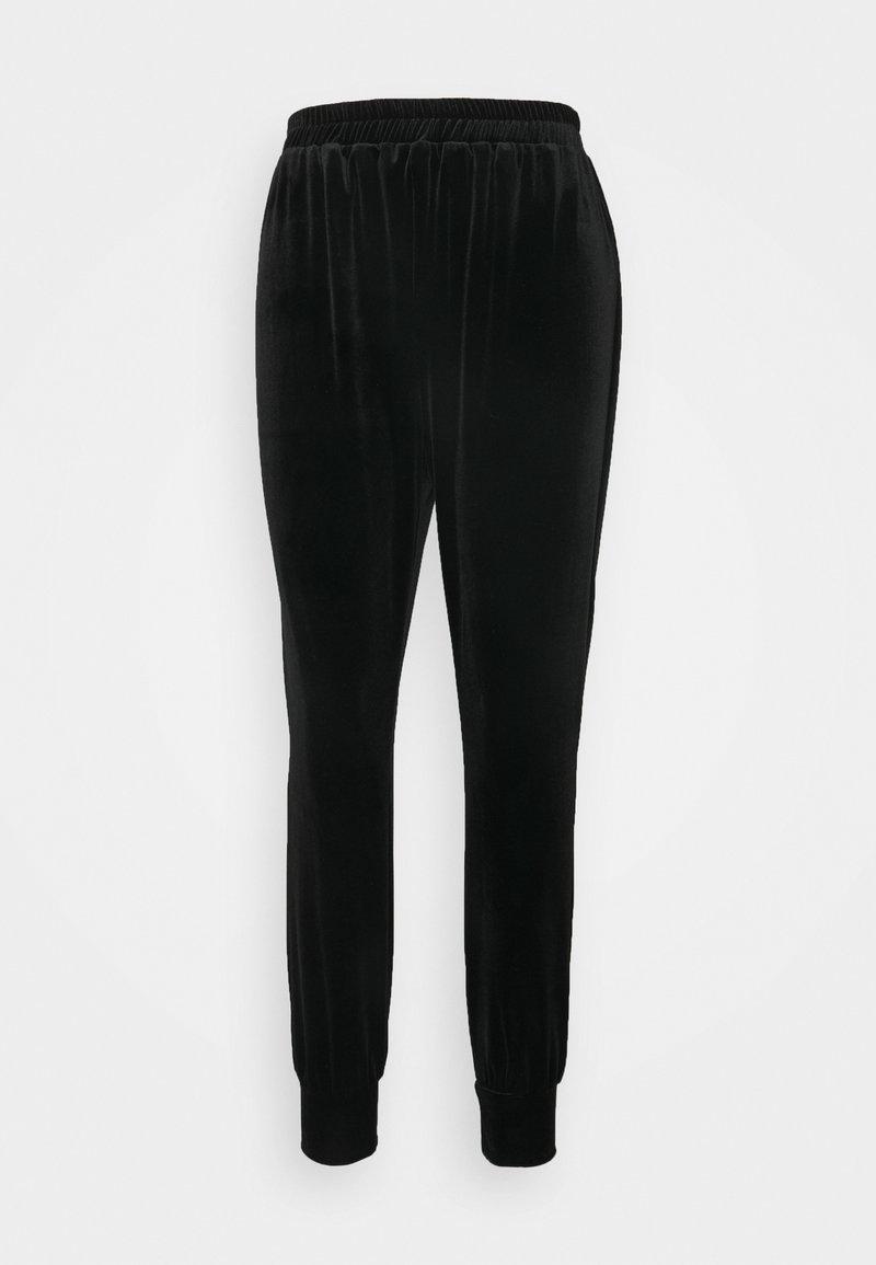 Closet - CLOSET CUFF LEG TROUSER - Trousers - black