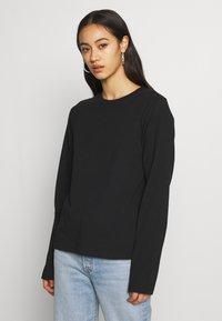 Weekday - ALANIS 2 PACK - Long sleeved top - black/white - 2