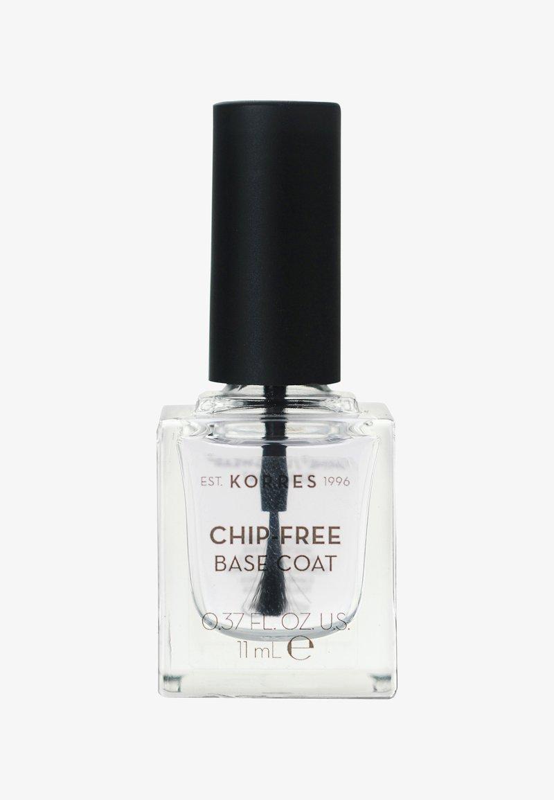 Korres - GEL-EFFEKT BASE COAT - Nail polish (base coat) - -