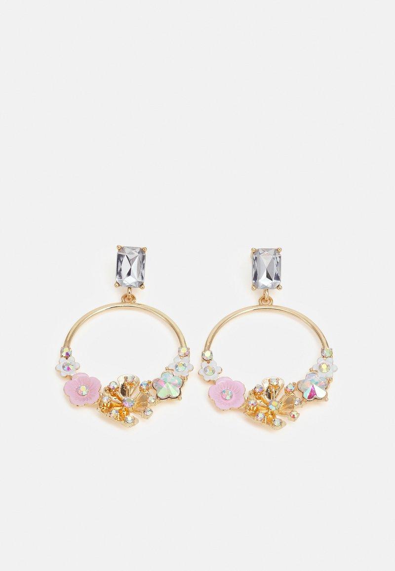 Pieces - PCFLOWANE EARRINGS - Earrings - gold-coloured