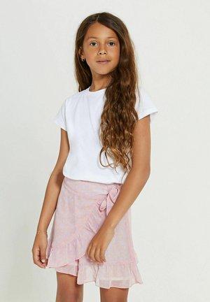 Wrap skirt - pastel lilac purple
