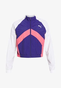 Puma - STUDIO CLASH ACTIVE TRACK JACKET - Treningsjakke - purple - 5