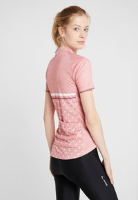 ODLO - STAND UP COLLAR FULL ZIP FUJIN PRINT - T-shirts print - faded rose - 2