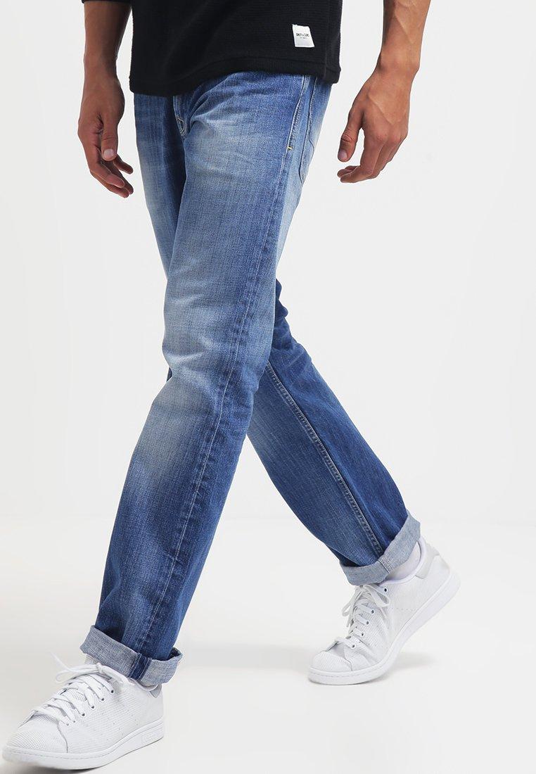 Pepe Jeans Kingston Zip Straight Leg Jeans N56 Blue Denim Zalando Ie