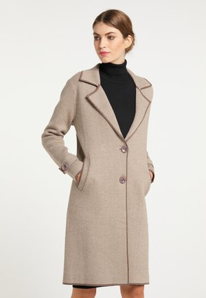 MANTEL - Short coat - taupe