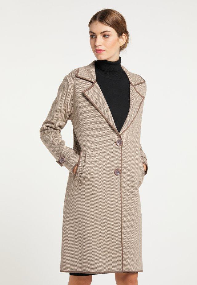 MANTEL - Krátký kabát - taupe