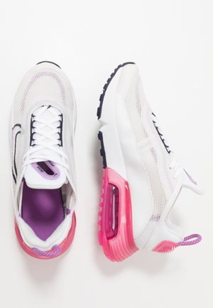 AIR MAX 2090 UNISEX - Sneakersy niskie - platinum tint/blackened blue/watermelon/purple