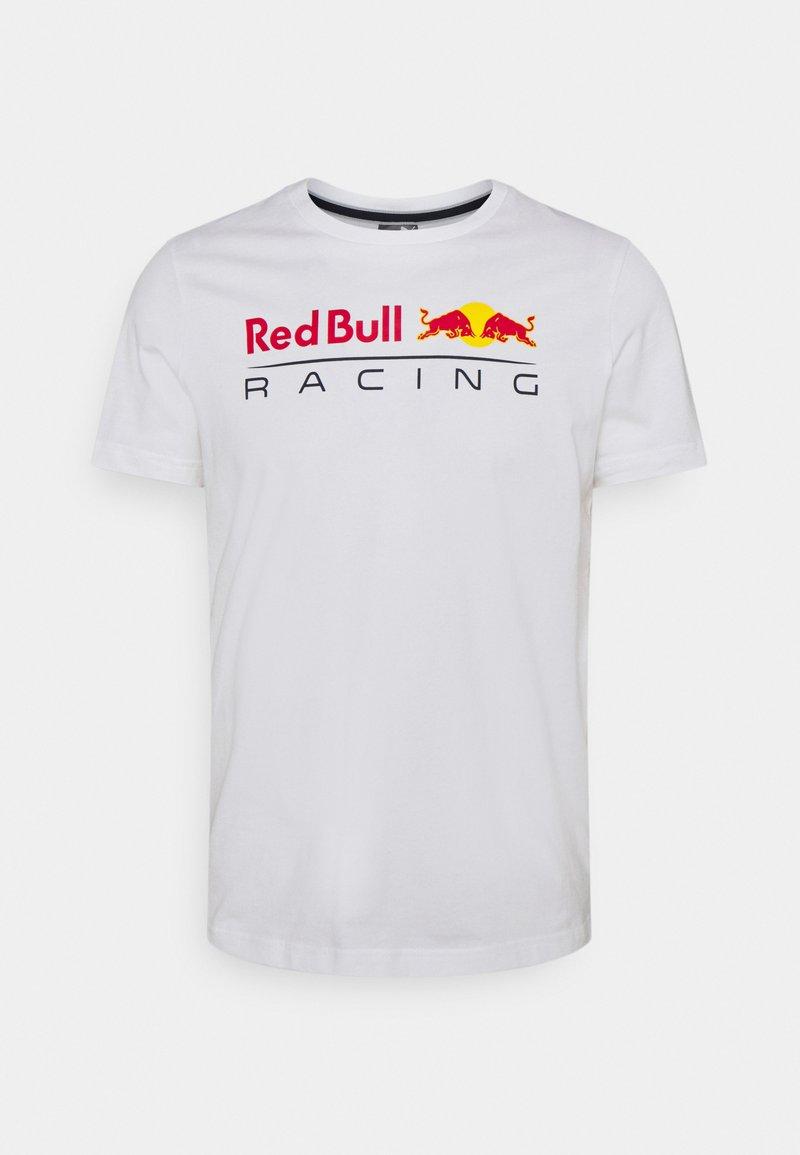 Puma - LOGO TEE - T-shirt med print - white