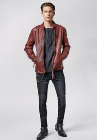 Tigha - FRANKLYN - Leather jacket - dark red - 1