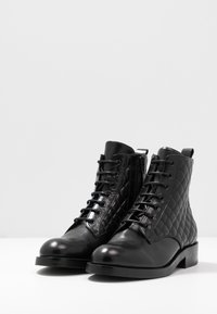 Billi Bi - Lace-up ankle boots - black - 4