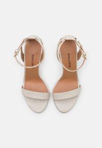 Pura Lopez - Sandalen - glitter platin - 4