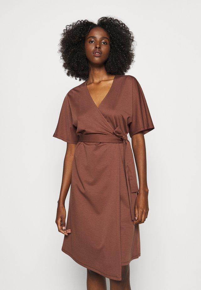 ORBACE - Day dress - bronze