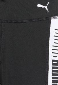 Puma - RUNTRAIN - Leggings - black/white - 2