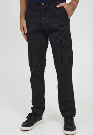 LOGAN - Cargo trousers - black