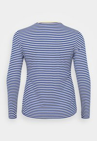 ONLY Carmakoma - CARTINE  - Long sleeved top - blue/white - 7