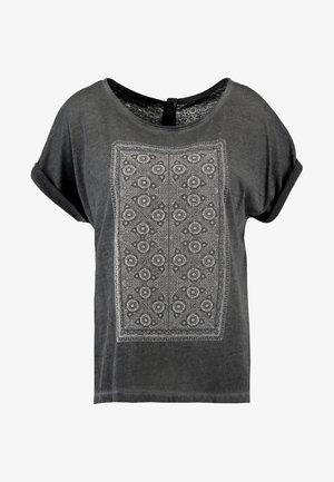 SUMMERTIME HAPPINESS - Print T-shirt - dark grey