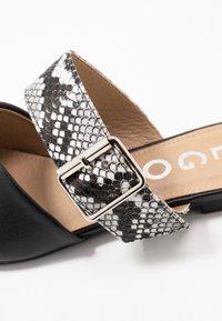 EGO - DAWSON - Mules - black/grey - 2