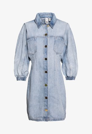 Robe en jean - light-blue denim