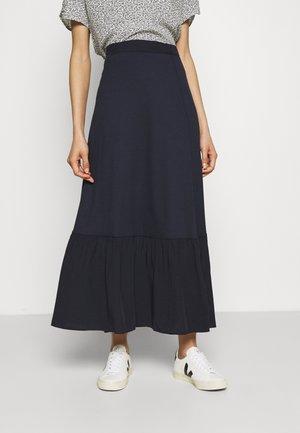TIERRING SKIRT - A-line skirt - navy
