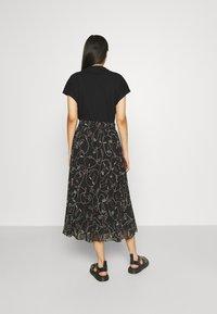 Monki - A-line skirt - black dark - 2