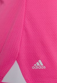 adidas Golf - HEAT.RDY ZIP SHORT SLEEVE - T-shirt con stampa - screaming pink - 2
