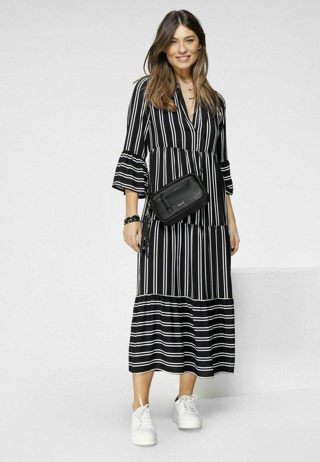 Korte jurk - streifen