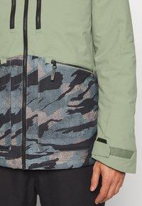 O'Neill - TEXTURE JACKET - Snowboard jacket - light green - 6