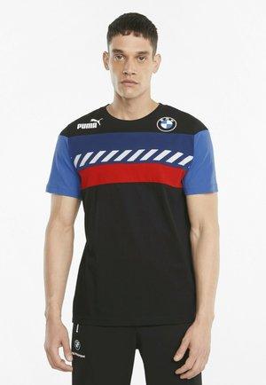 BMW M MOTORSPORT SDS  - T-shirt med print - puma black