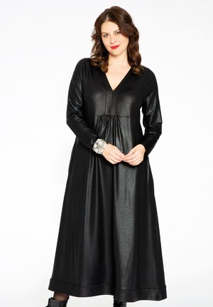 V-NECK - Maxi dress - black