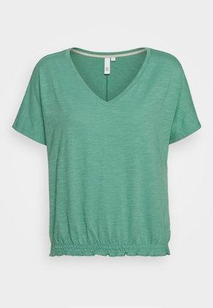 Jednoduché triko - sea green