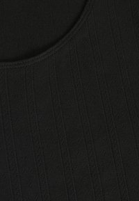Tommy Jeans - BABYLOCK DETAIL TEE - Print T-shirt - black - 2