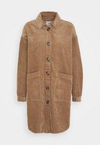 JDYTORY WORKER - Classic coat - portabella